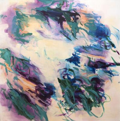 Rebecca Meanley, 'Untitled (lemon-turquoise)', 2017
