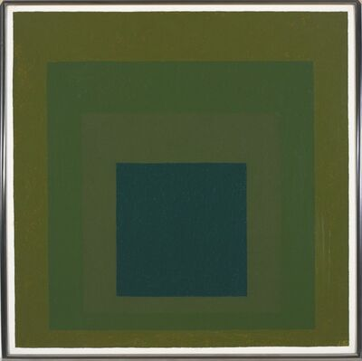 Josef Albers, 'Study Homage to the Square: Growing Mellow', 1967