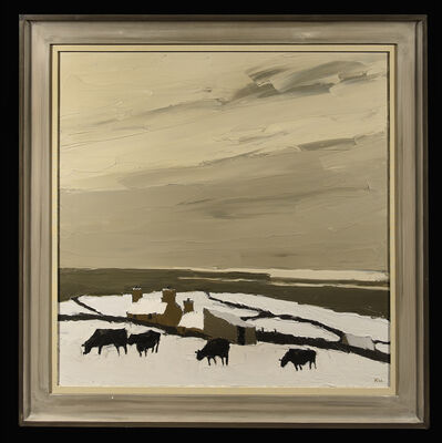 Kyffin Williams, 'Snow at Llangwyfan', 1970-2000