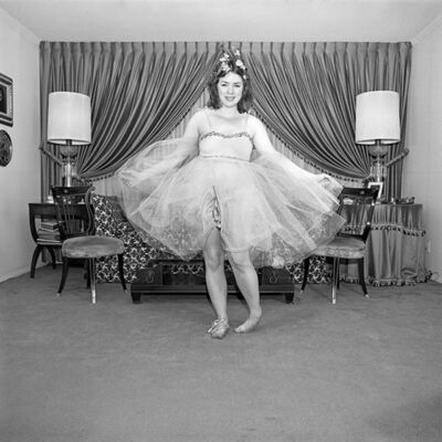 Meryl Meisler, 'Self-Portrait The Ballerina, North Massapequa, NY', June 1975
