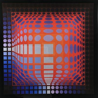 Victor Vasarely, 'KOSKA-QUEMER', 1972