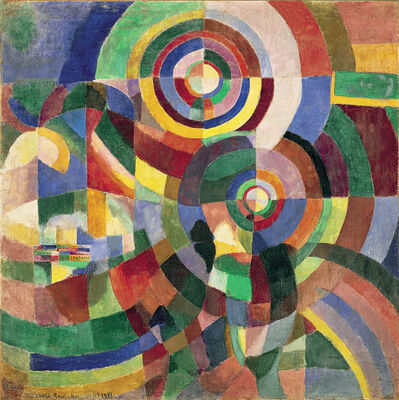 Sonia Delaunay, 'Electric Prisms', 1914