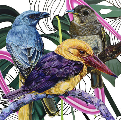 Juan Travieso, 'Endangered Birds #168', 2019