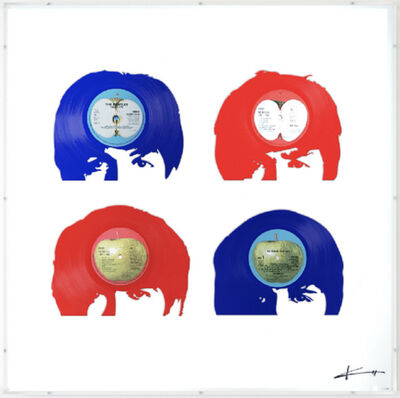 Keith Haynes, 'The Beatles - Fab Four Red, White and Blue', N/A