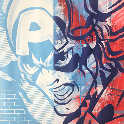 SEEN, 'Captain America', ca. 2018