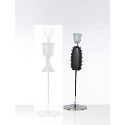 Andrea Branzi, 'Pineapple Tavolo - Limited Edition Collection The Bronze Age, table lamp', 2000
