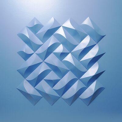 Matt Shlian, 'Ghostly Omoplata in Iridescent Blue', 2020