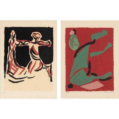 Marino Marini, 'CAVALIERE; MIRACOLO (GUASTALLA LQ; LT)', 1967 and 1970