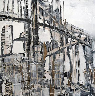 Boo Lynn Walsh, 'Bridges Triptych III', 2018