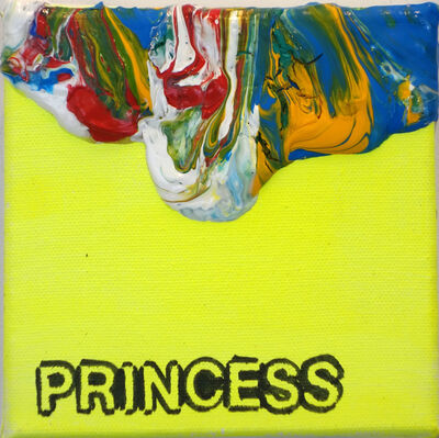 Betty Tompkins, 'Princess', 2016
