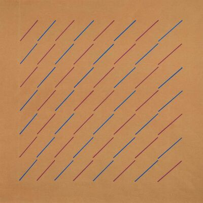 Mario Nigro, 'Structure with chromatic license', executed in 1972 c.a