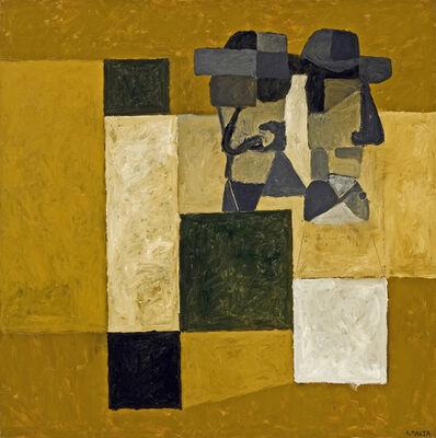 Antonio Malta Campos, 'Dois Personagens', 1998