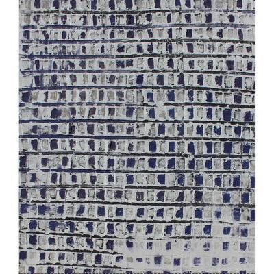 Adalina Coromines, 'Blau sobre blanc', 2016