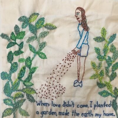 Iviva Olenick, 'Planted a garden', 2020