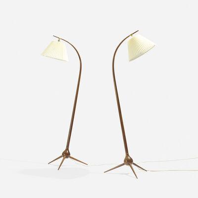 Severin Hansen Jr., 'Floor Lamps, Pair', c. 1955
