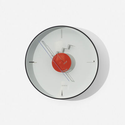 Nicolai Canetti, 'Art Time wall clock', 1984