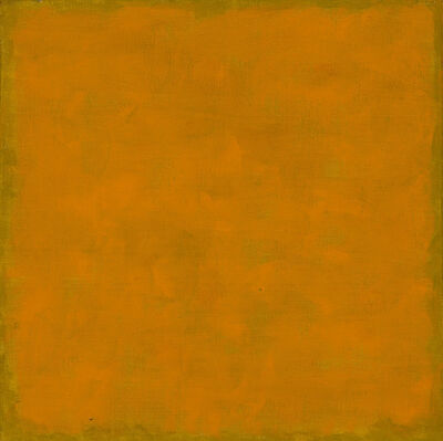 Françoise Sullivan, 'Le carré orange', 2003
