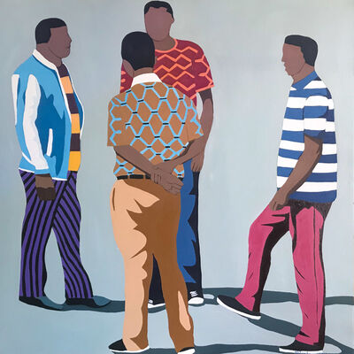 Shakes Tembani, '4 Men', 2019