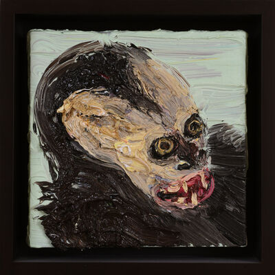Allison Schulnik, 'Small Monkey', 2010