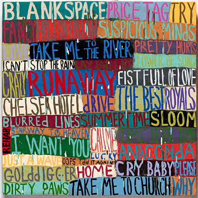 Squeak Carnwath, 'Almost Perfect', 2015