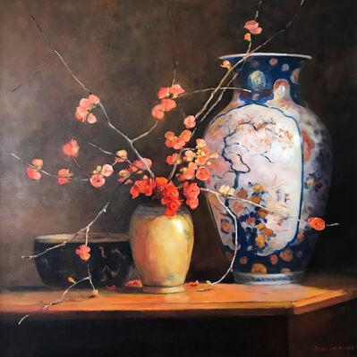Jacqueline Fowler, 'Large Imari Vase', ca. 2017