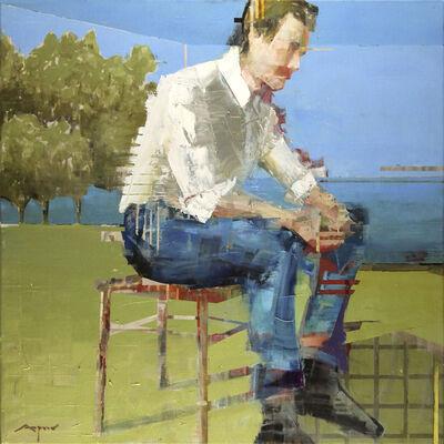 Michael Azgour, 'Integration: Man Seated', 2017