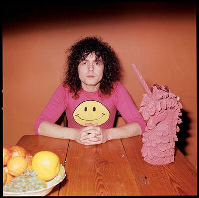 Alec Byrne, 'Marc Bolan, Pink Unicorn', 1971