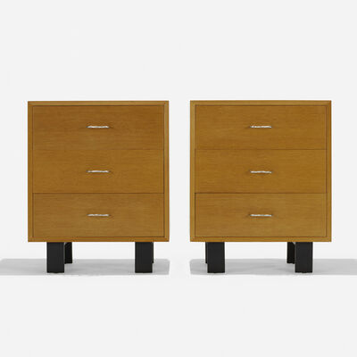 George Nelson & Associates, 'Cabinets, pair', 1946