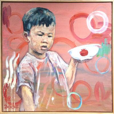 Hung Liu, 'Pomegranate Bowl', 2008