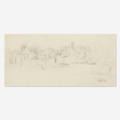 Earl Horter, 'Untitled (town scene)'