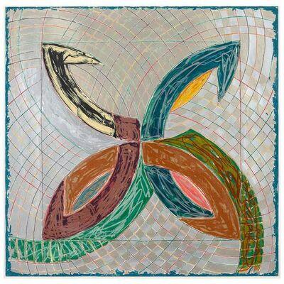 Frank Stella, 'Polar Co-ordinates V', 1980