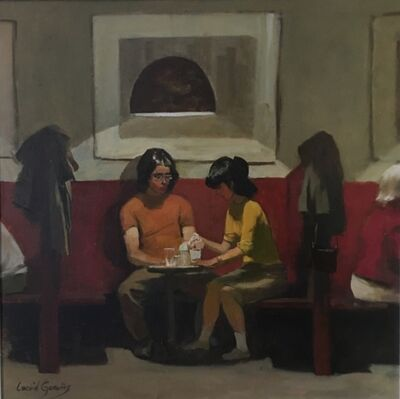 Leonid Gervits, 'Date in Cafe', 2010