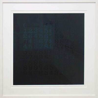 Hans-Albert Walter, 'Countdown in Schwarz', 1994