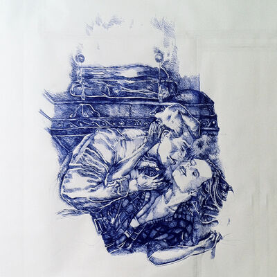 Keren Cytter, 'Romantic Drawing #1', 2015