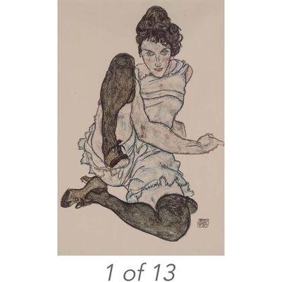 Egon Schiele, 'Handzeichnungen', 1920