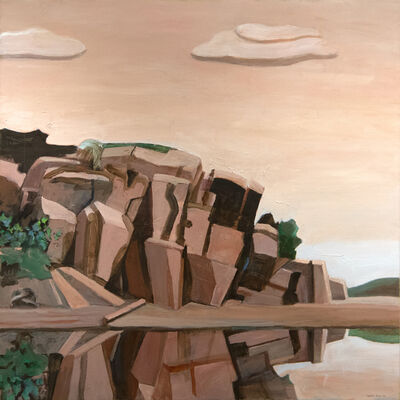 William Theophilus Brown, 'Landscape with Rocks', 1985-2005