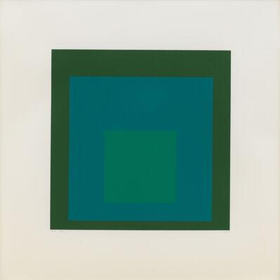 Josef Albers, 'EK If', 1970