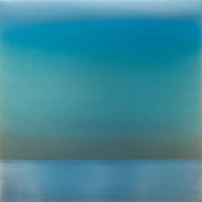 Miya Ando, 'Kasumi December Green Blue', 2017