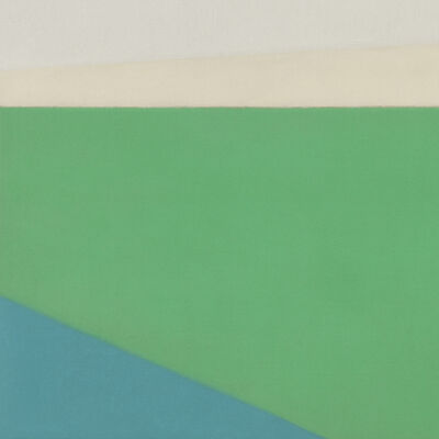 Susan Vecsey, 'Untitled (Green/Blue)', 2015
