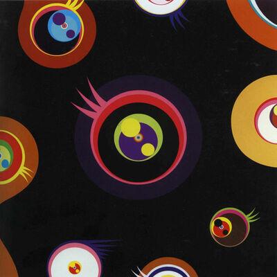 Takashi Murakami, 'Jellyfish Eyes (Black I), ', 2004