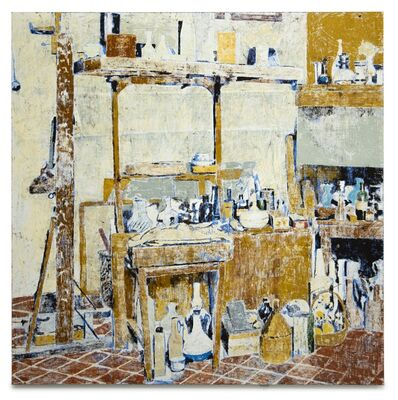 Enoc Perez, 'Via Fondazza 36, Bologna, Home and Studio of Giorgio Morandi', 2019