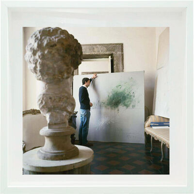 Horst P. Horst, 'Cy Twombly - Untitled #30, Small size: Framed', 1966