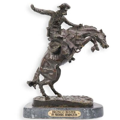 Frederic Remington, 'Bronco Buster', Unknown