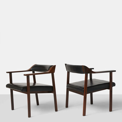 Joaquim Tenreiro, 'Pair of Lounge Chairs', 1950-1959