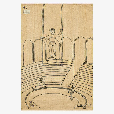 After Alexander Calder, 'Wall-hanging tapestry, Circus, Guatemala', 1975