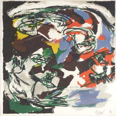 Karel Appel, 'Tempete. no 2 - Storm. Paysages Humains.', 1961