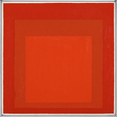 Josef Albers, 'Homage to the Square', 1969