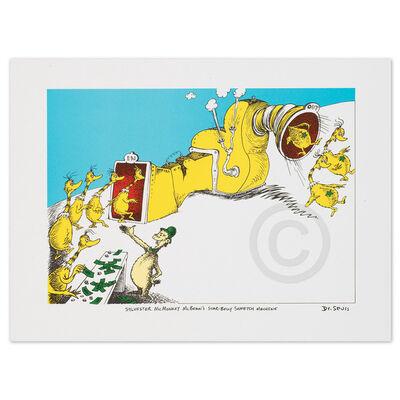 Dr. Seuss, 'Sylvester McMonkey McBean', 1999