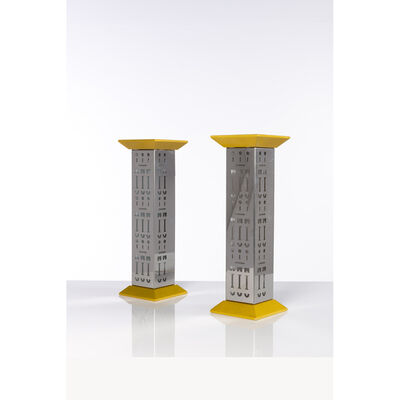 Alessandro Mendini, 'Ollo - Pair of table lamps', 1988