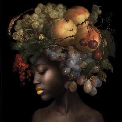 Yvonne Michiels, 'Fading Flowers Amber', 2020-2021